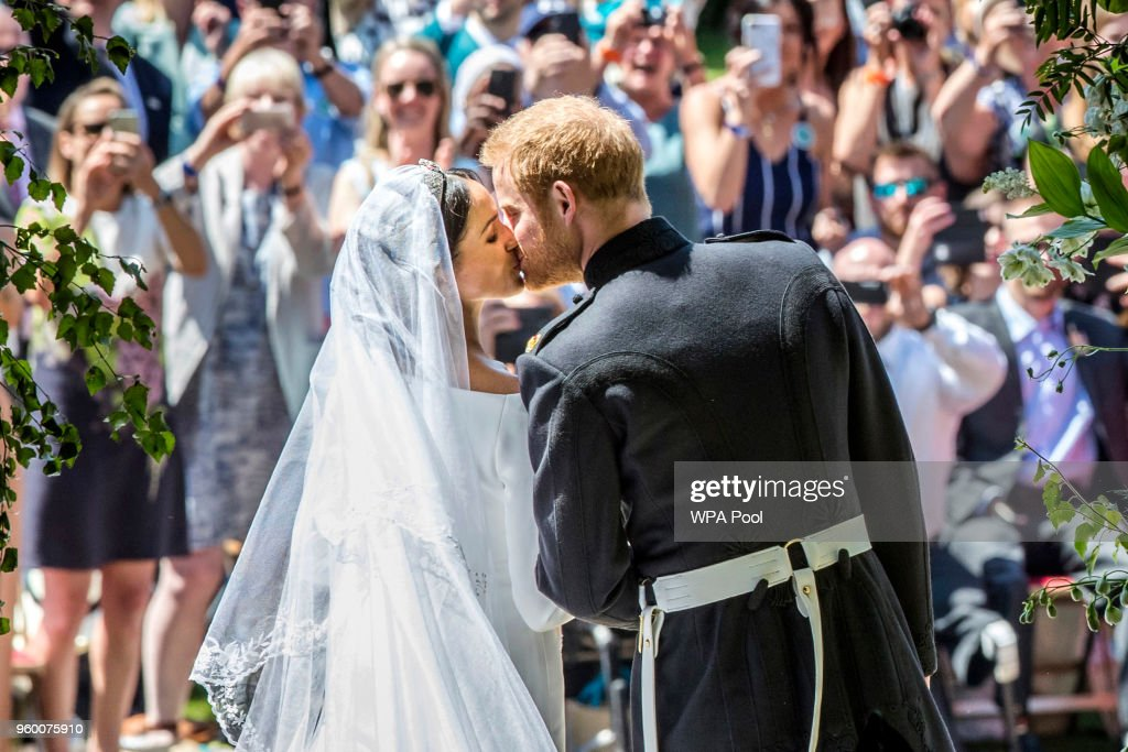 Prince Harry Marries Ms. Meghan Markle - Windsor Castle : Nieuwsfoto's