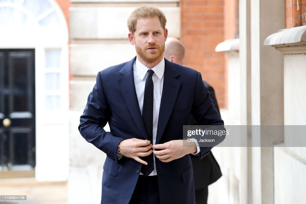 The Duke Of Sussex Attends Garden Party To Celebrate 70th Anniversary Of The Commonwealth : News Photo