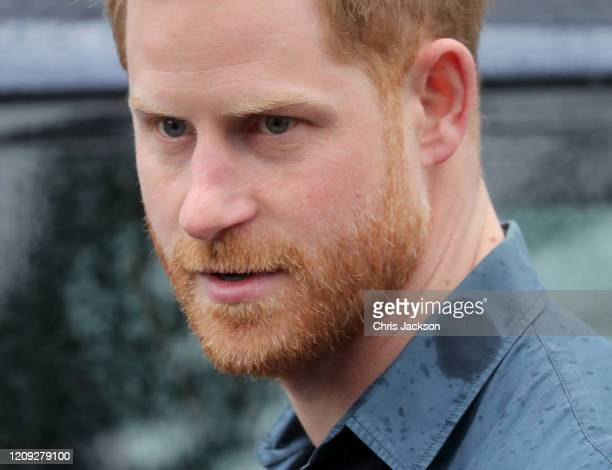 Prince Harry, Duke of Sussex at Abbey road Studios for an event with the Invictus Games Foundation on February 28, 2020 in London, England.