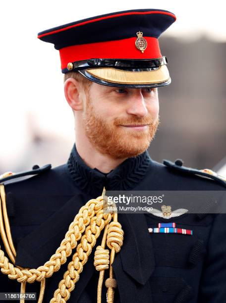 Prince Harry, Duke of Sussex attends the 91st Field of Remembrance at Westminster Abbey on November 7, 2019 in London, England.