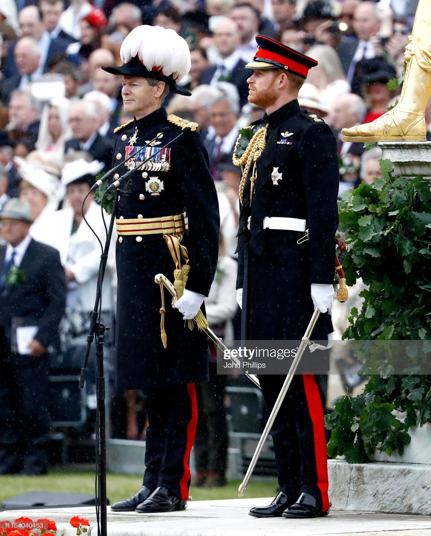 prince-harry-duke-of-sussex-attends-the-annual-founders-day-parade-at-picture-id1154040453
