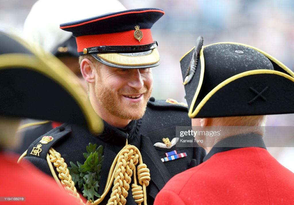 The Duke Of Sussex Attends Founder's Day : News Photo