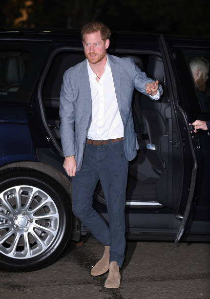 GBR: The Duke Of Sussex Attends The Inaugural OnSide Awards
