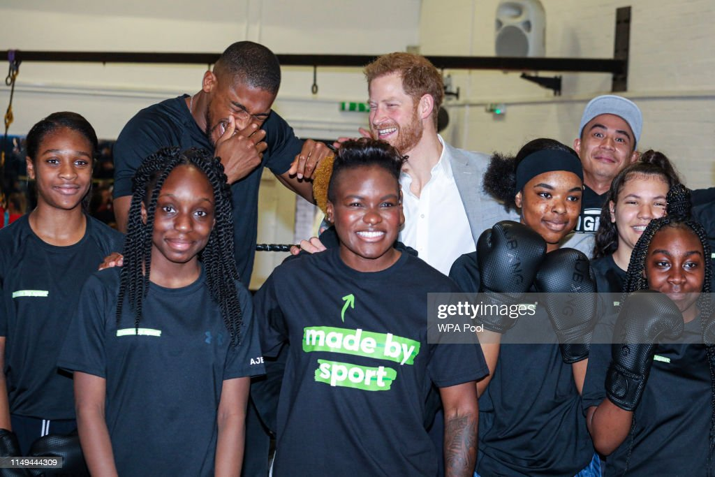 The Duke Of Sussex Attends The Launch Of Made By Sport : News Photo
