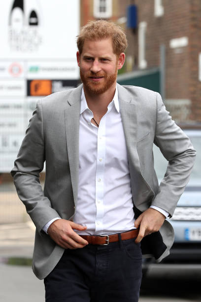 GBR: The Duke Of Sussex Attends The Launch Of Made By Sport