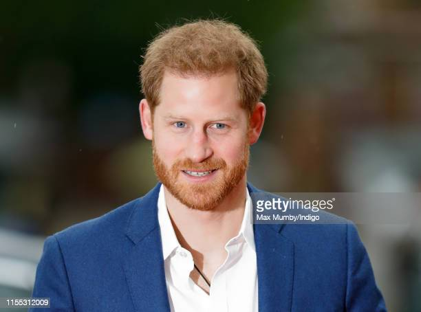 Prince Harry, Duke of Sussex attends the Sentebale Audi Concert at Hampton Court Palace on June 11, 2019 in London, England. The charity Sentebale...