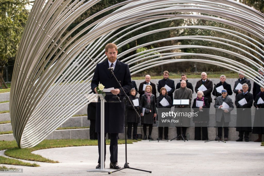 The Duke Of Sussex Visits Birmingham : News Photo