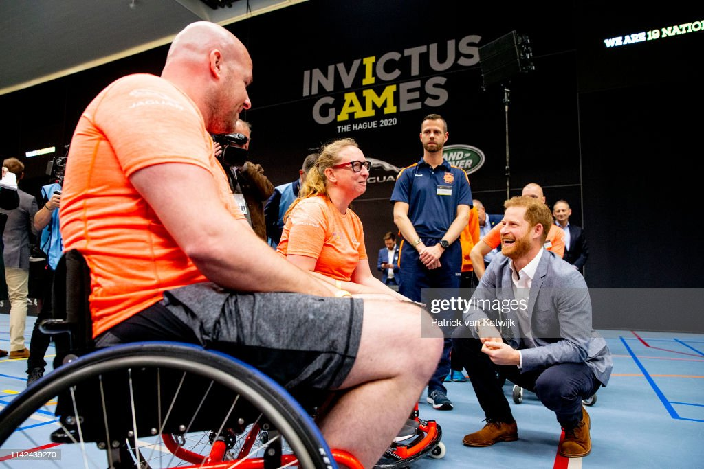 Launch Of The Invictus Games 2020 in The Hague : News Photo