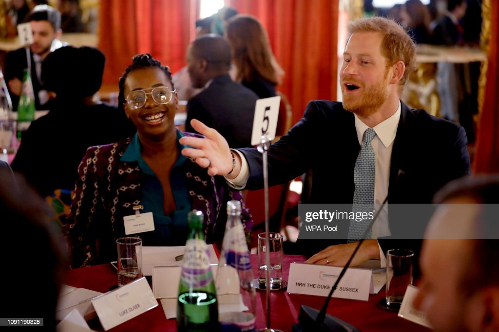 GBR: The Duke Of Sussex Attends Commonwealth Youth Roundtable