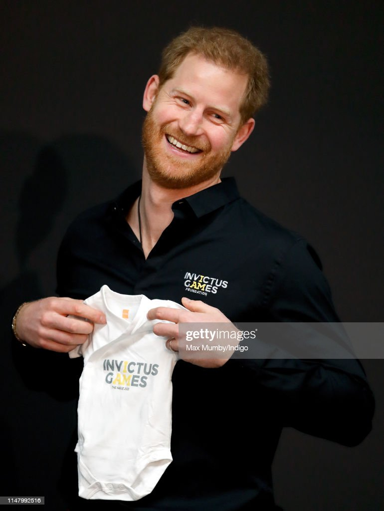 The Duke Of Sussex Visits The Netherlands : News Photo