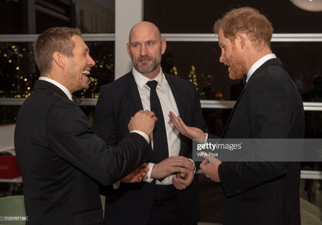 GBR: The Duke Of Sussex Attends 'Try For Change' Reception