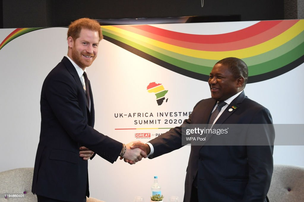 Prime Minister Boris Johnson Hosts UK-Africa Investment Summit : News Photo