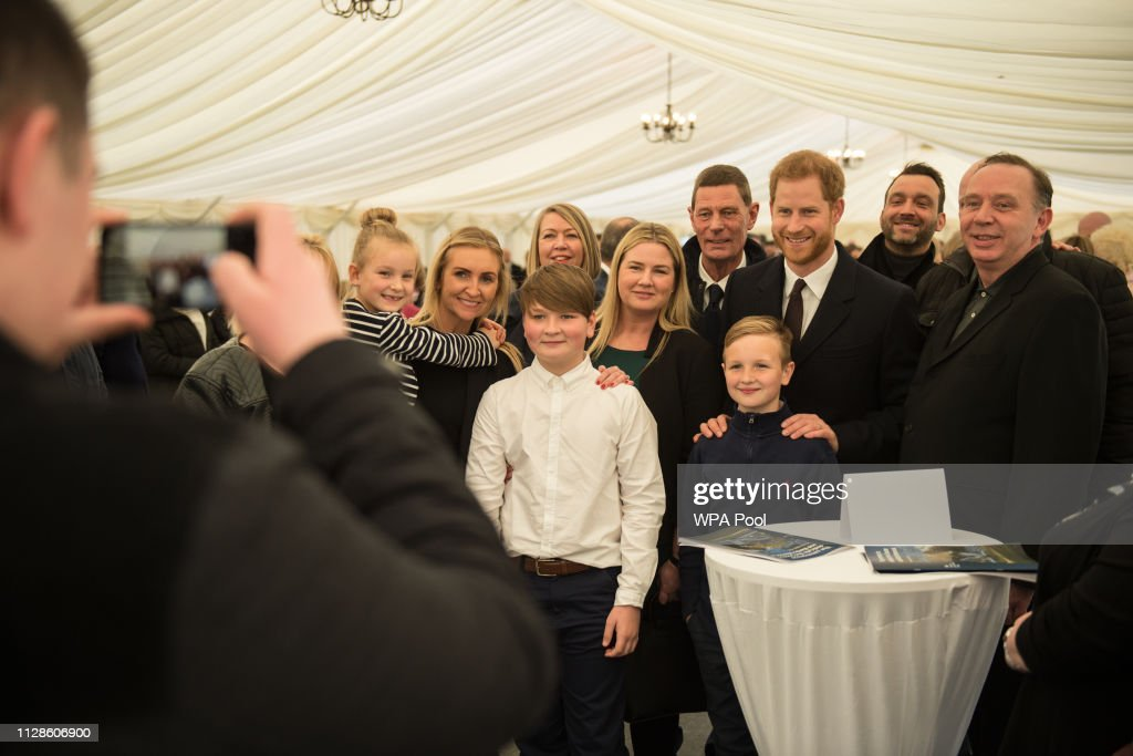 The Duke Of Sussex Visits Birmingham : News Photo