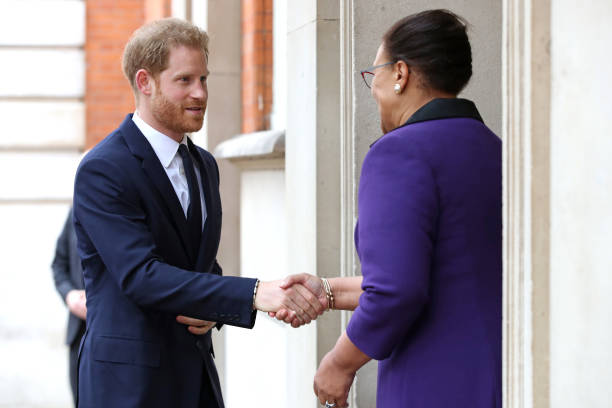 GBR: The Duke Of Sussex Attends Garden Party To Celebrate 70th Anniversary Of The Commonwealth