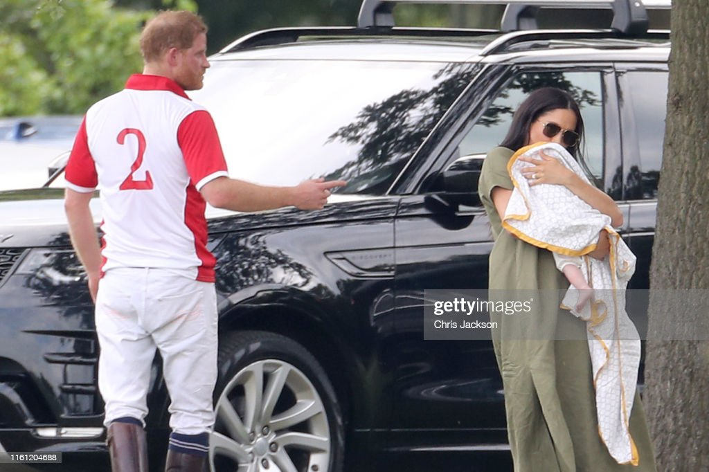 The Duke Of Cambridge And The Duke Of Sussex Take Part In The King Power Royal Charity Polo Day : News Photo