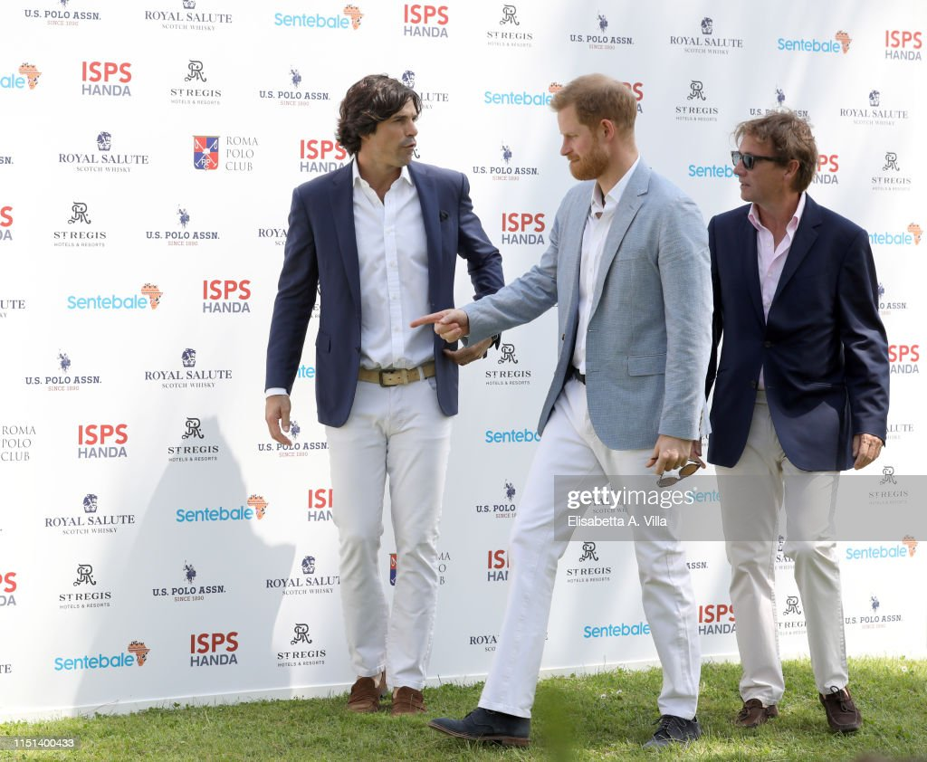 The Duke Of Sussex Attends 2019 Sentebale ISPS Handa Polo Cup In Rome : News Photo