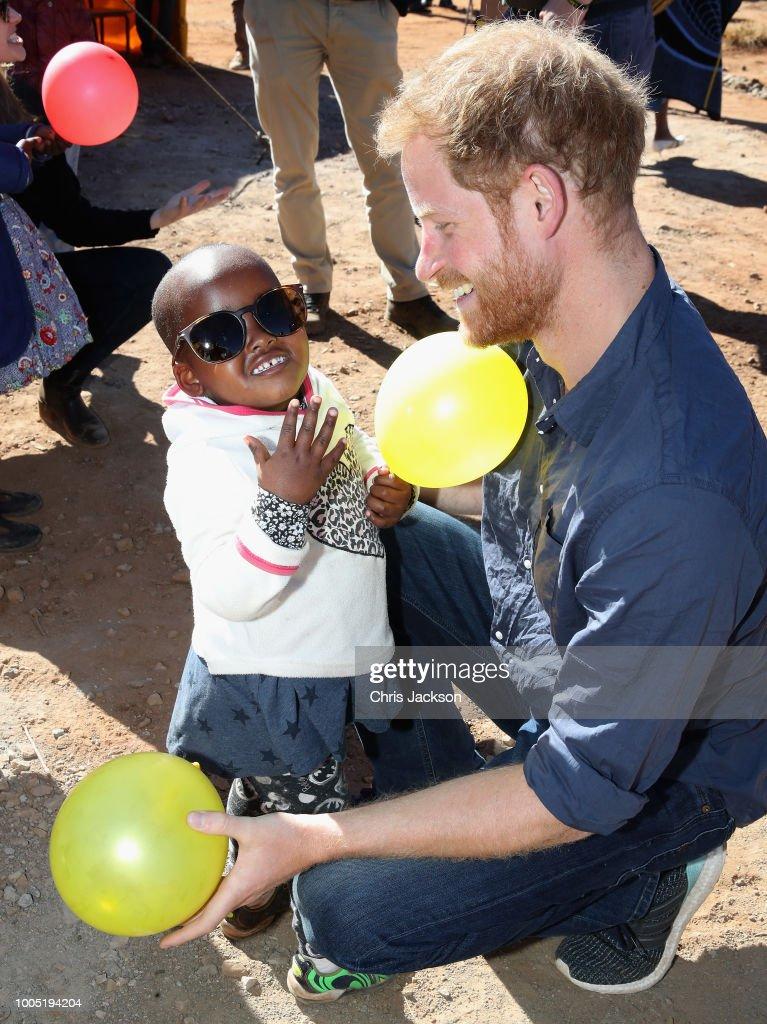 Sentebale Donor Trip, Lesotho 2018 : Nachrichtenfoto