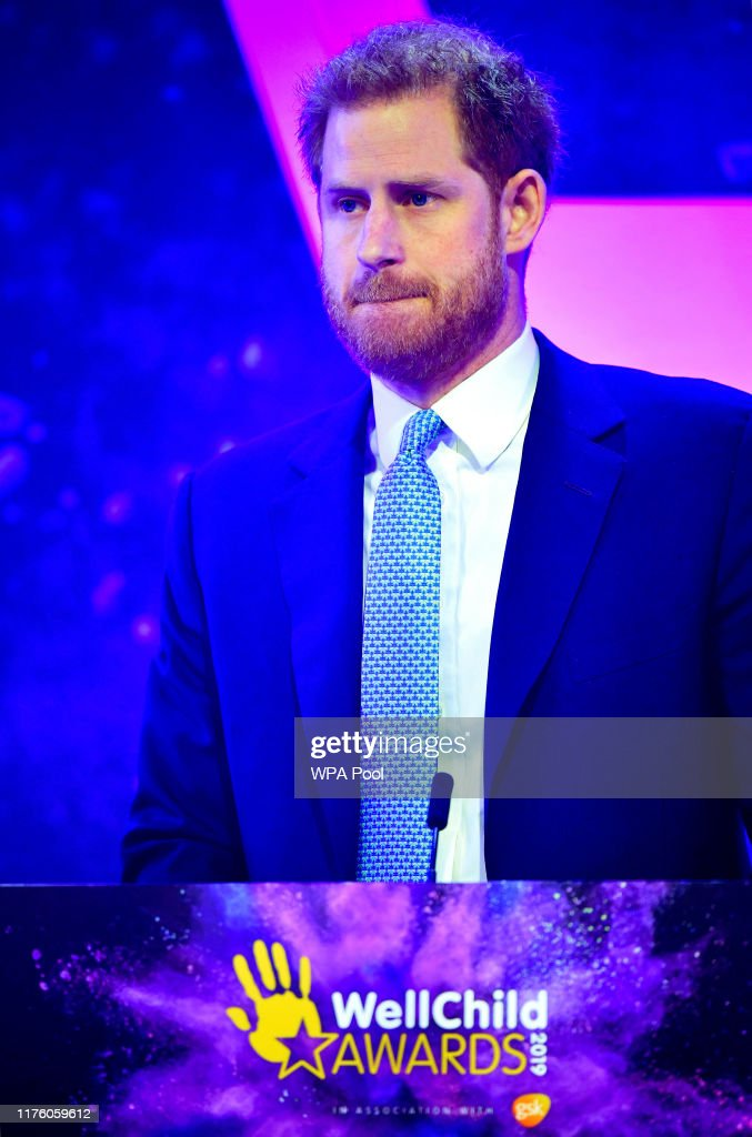 The Duke And Duchess Of Sussex Attend WellChild Awards : News Photo