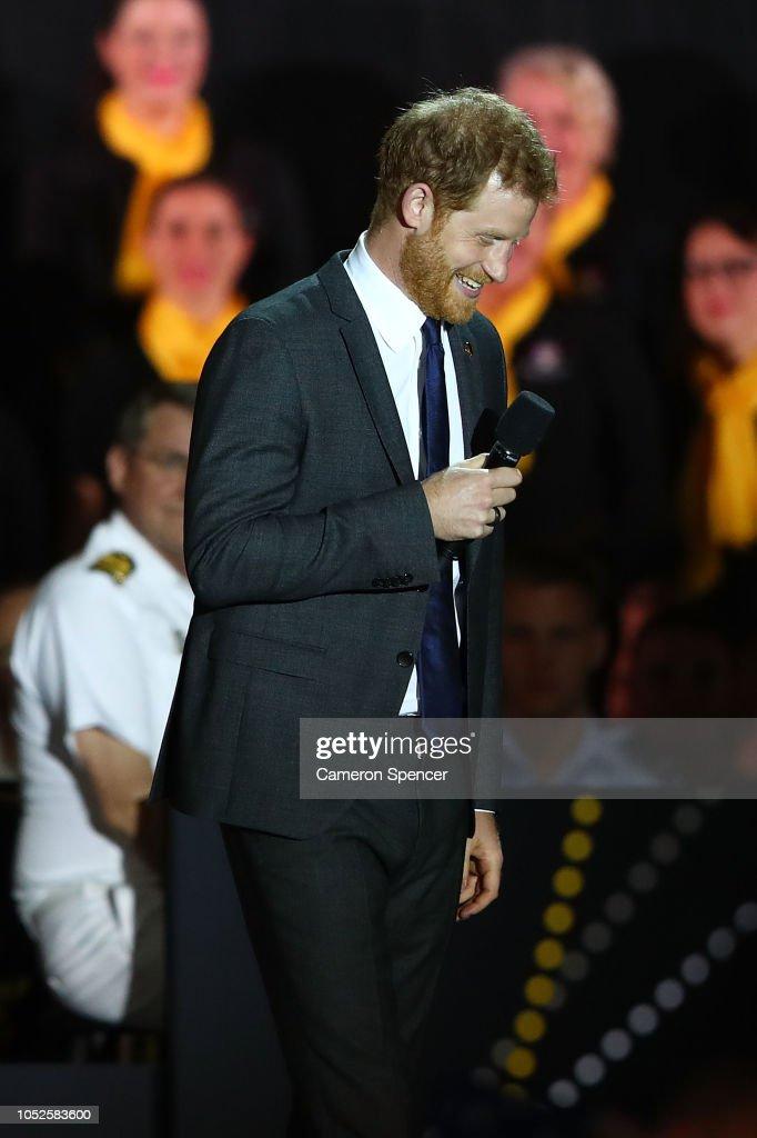 Invictus Games Sydney 2018 - Opening Ceremony : News Photo