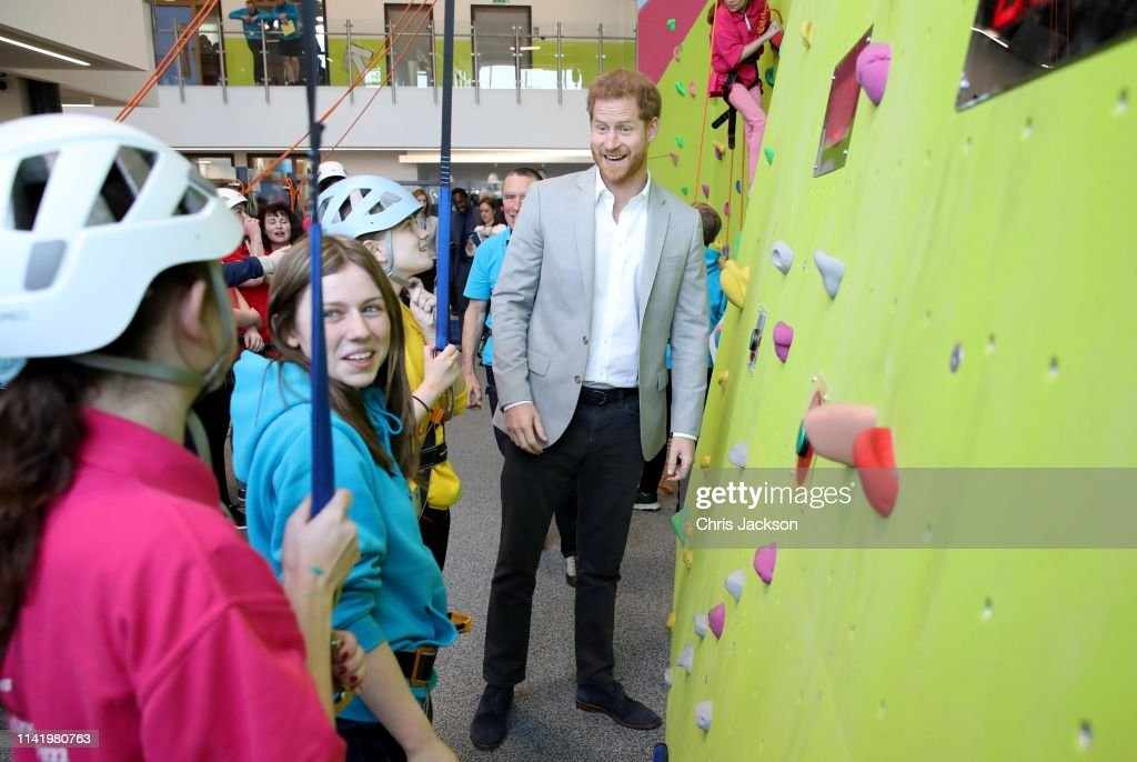 GBR: The Duke Of Sussex Opens The Barking And Dagenham 'Future' Youth Zone