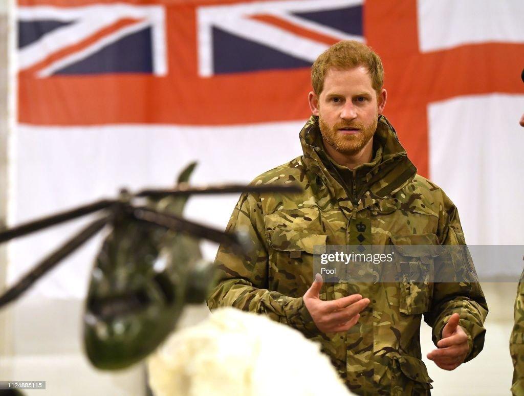 Prince Harry, Duke of Sussex Visits Exercise Clockwork : News Photo