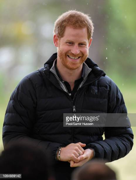 Prince Harry Duke of Sussex visits Abel Tasman National Park which sits at the northEastern tip of the South Island to visit some of the conservation...