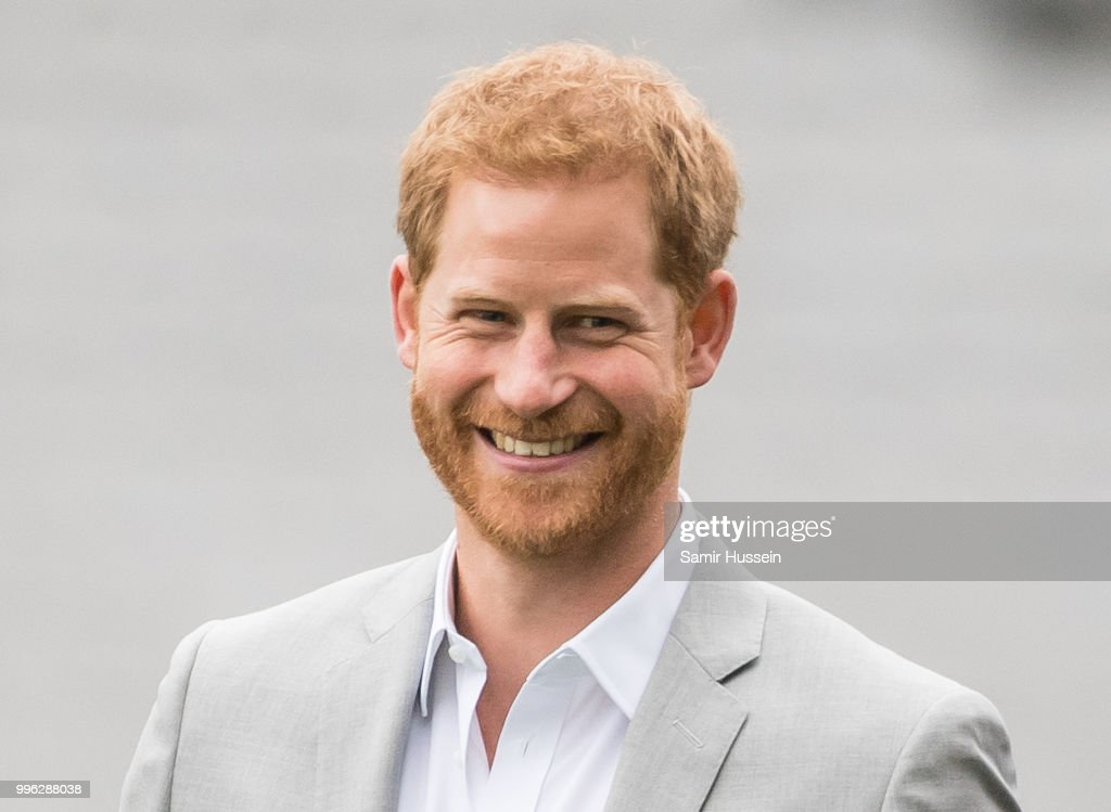 Prince Harry, Duke of Sussex visits Croke Park, home of Ireland's largest sporting organisation, the Gaelic Athletic Association on July 11, 2018 in Dublin, Ireland.