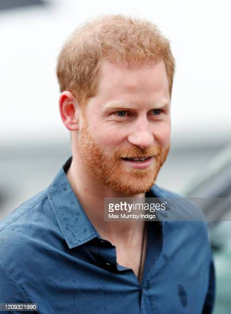 Prince Harry, Duke of Sussex visits the Abbey Road Studios where the Invictus Games Choir are recording a special single in aid of the Invictus Games...