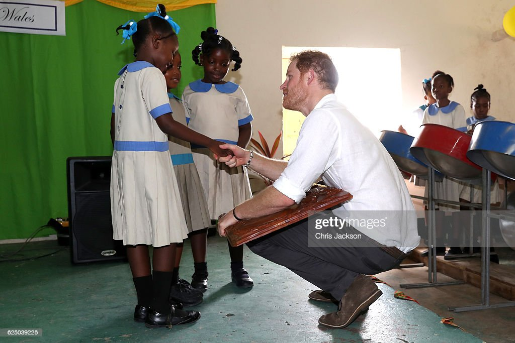 Prince Harry Visits The Caribbean - Day 3 : Foto di attualità