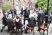 london england prince harry hosts reception