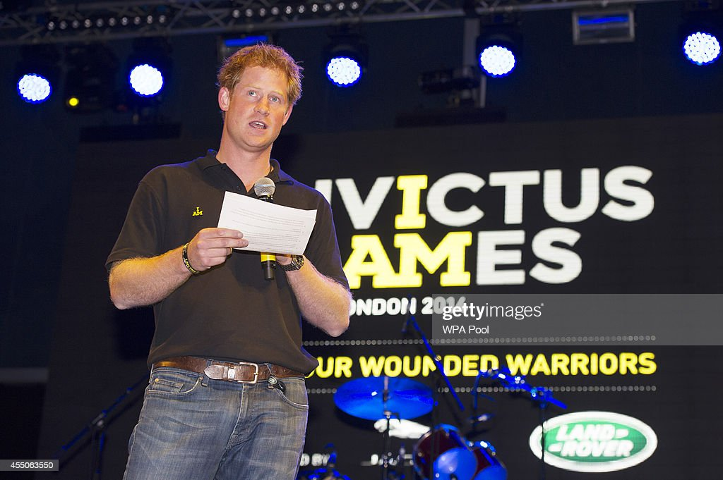 US Invictus Games Team Reception At Winfield House : News Photo