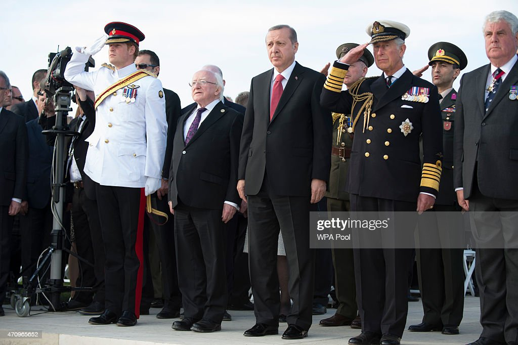 Gallipoli Campaign Centenary: The Commemorations : News Photo