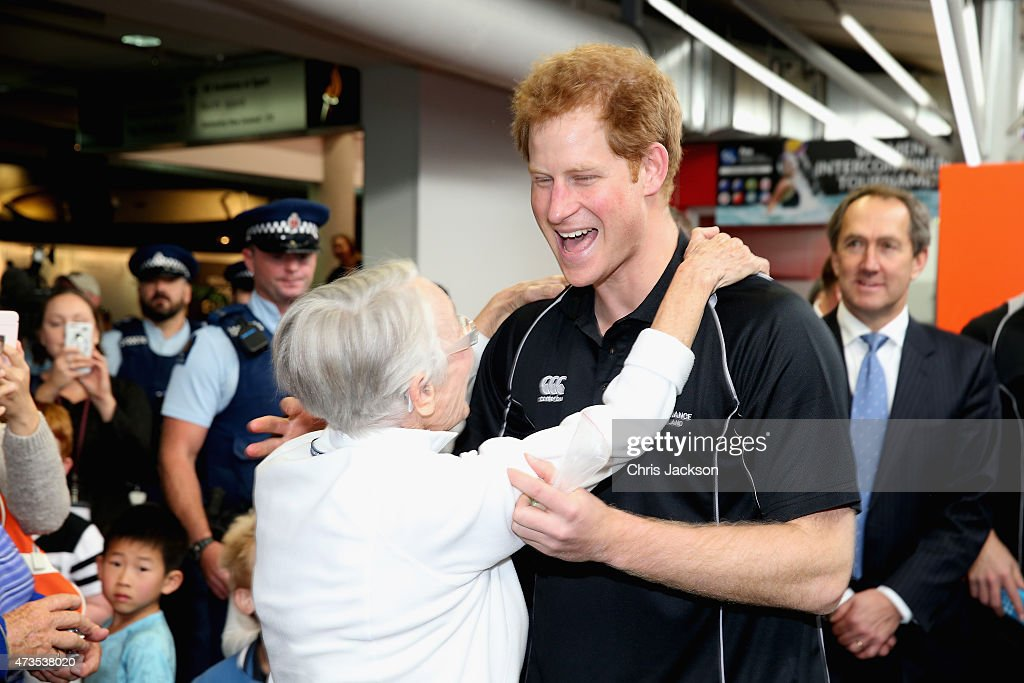 Prince Harry Visits New Zealand - Day 8 : News Photo