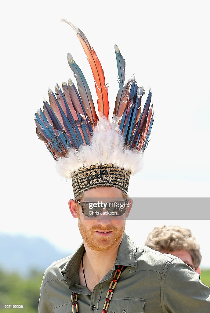 Prince Harry Visits The Caribbean - Day 13 : News Photo