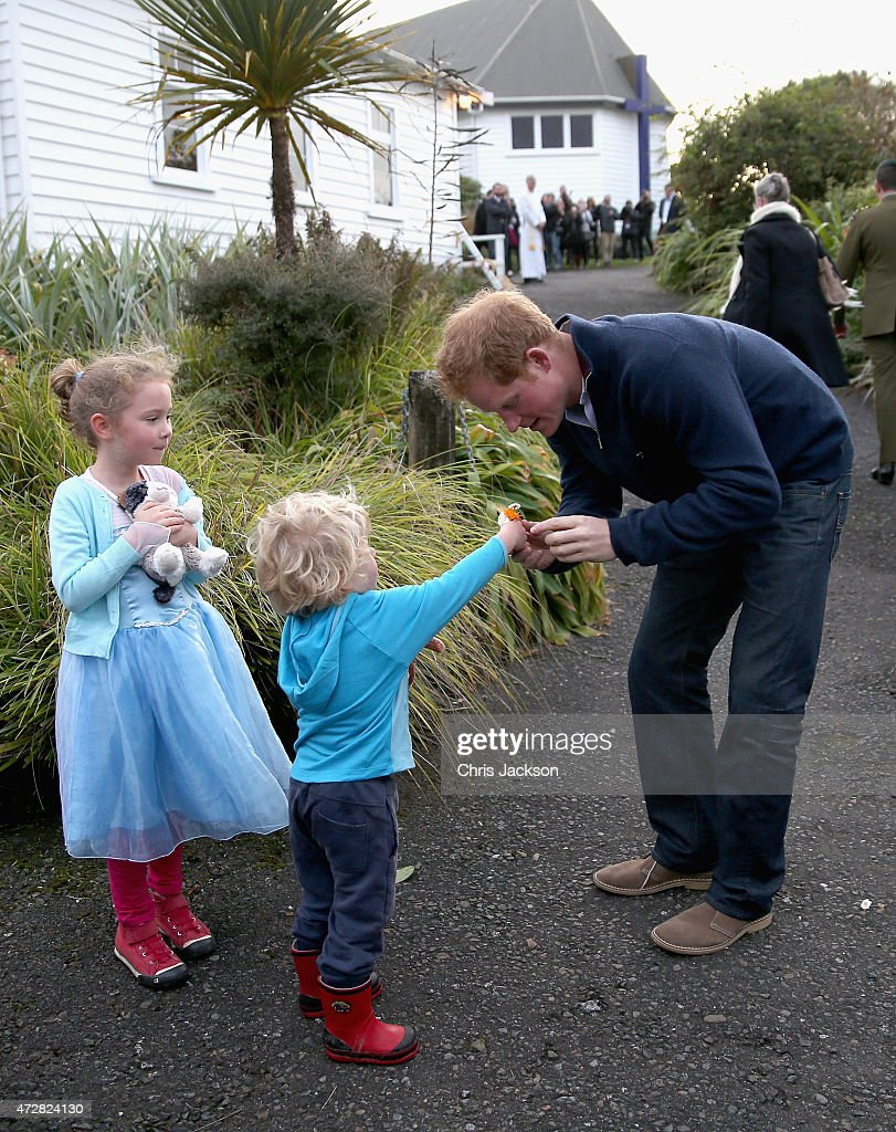 Prince Harry Visits New Zealand - Day 2 : News Photo
