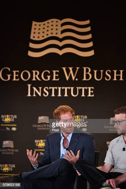 Prince Harry is seen during the Opening Ceremony of the Invictus Games Orlando 2016 at ESPN Wide World of Sports on May 8, 2016 in Orlando, Florida....