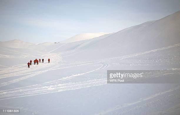 Prince Harry joins the Walking with the Wounded team who have gathered on the island of Spitsbergen situated between the Norwegian mainland and the...