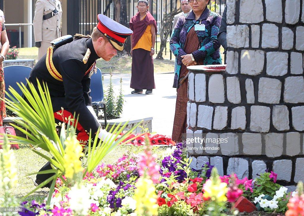 Prince Harry Visits Nepal - Day 4 : News Photo