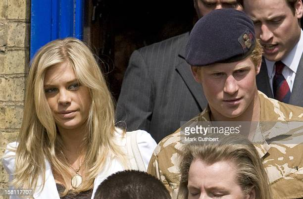Prince Harry Leave With Girlfriend Chelsy Davy And Prince William After A Service Of Remembrance For Those Who Have Died In Afghanistan At The Army...
