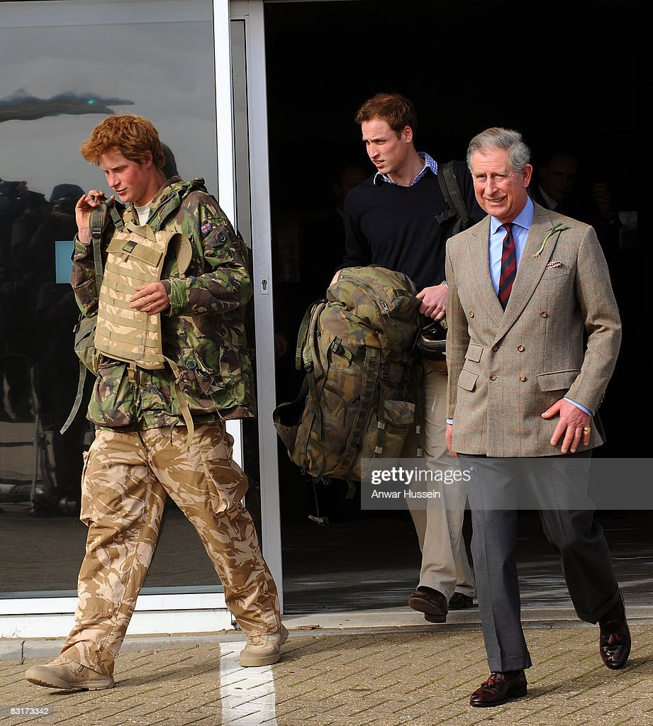 Prince Harry Returns From Afghanistan : News Photo