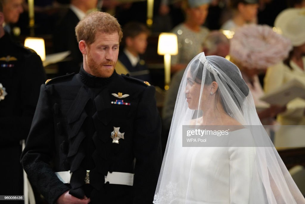 Prince Harry Marries Ms. Meghan Markle - Windsor Castle : Nachrichtenfoto
