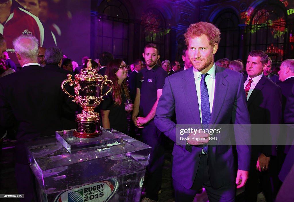 RFU Rugby World Cup Welcome Event : News Photo