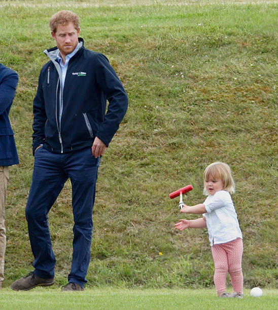 Prince William Takes Part In The Maserati Royal Charity