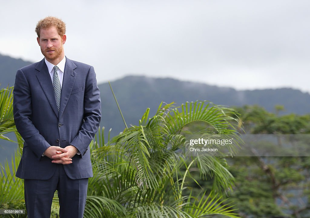 Prince Harry Visits The Caribbean - Day 4 : News Photo