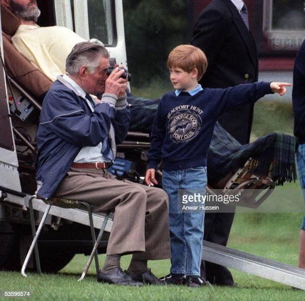 Prince Harry Looks Relaxed In A Beaufort Hunt Sweatshirt