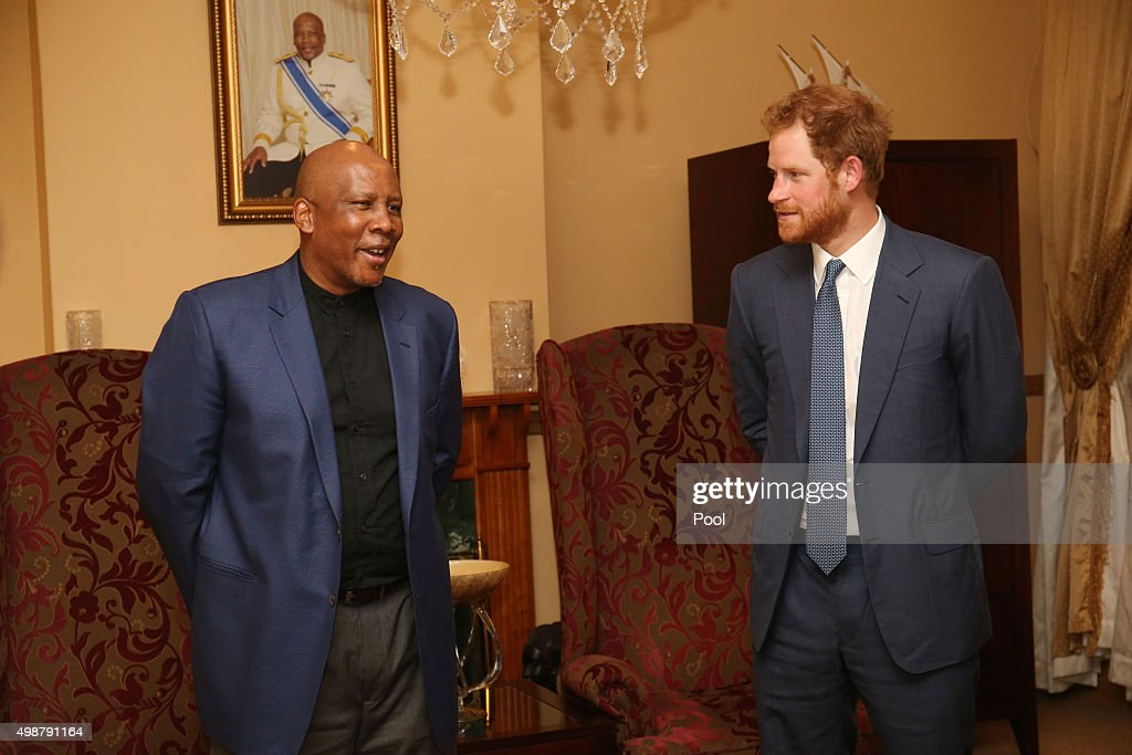Prince Harry visit to Lesotho : News Photo