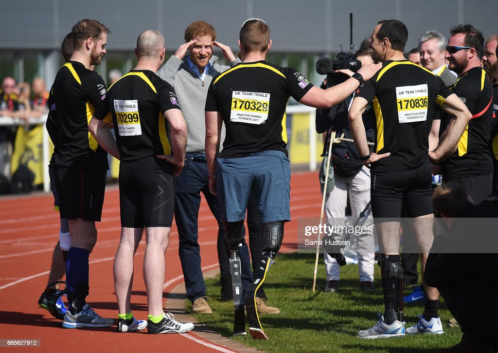 Prince Harry Visits Bath With Invictus Games : News Photo