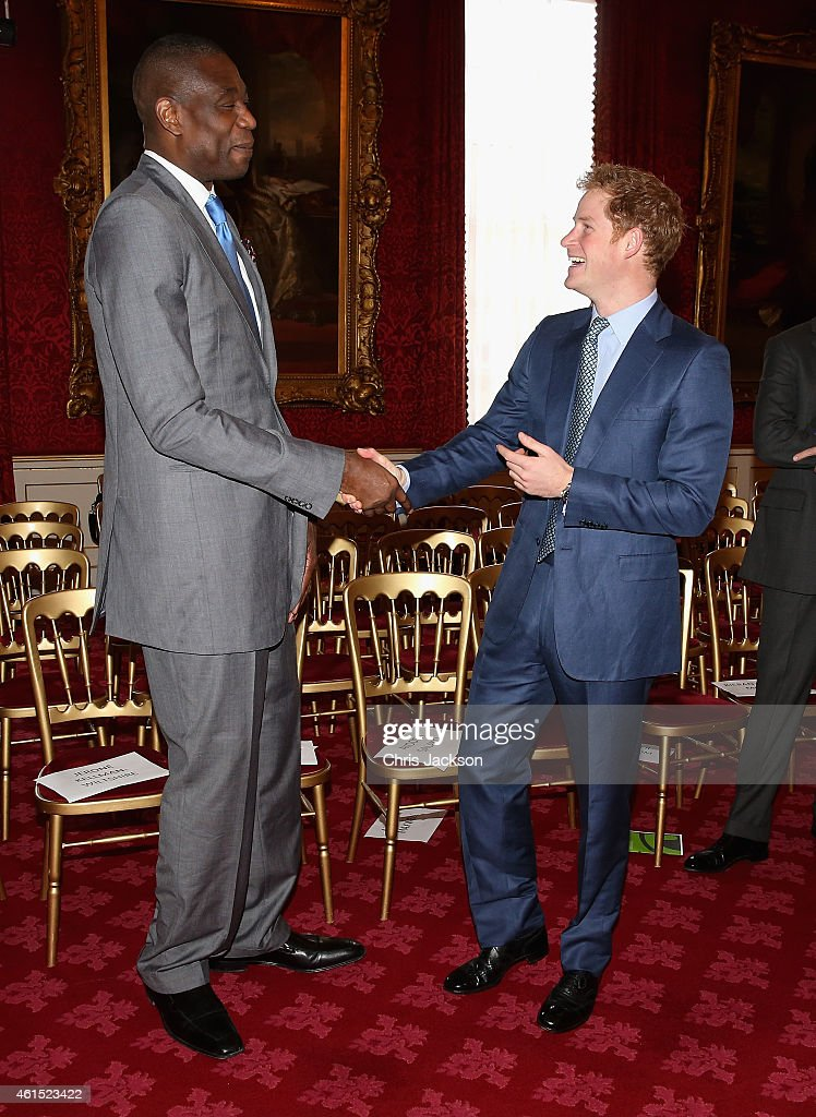 Prince Harry Hosts Coach Core Graduation Ceremony