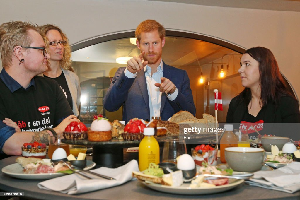 Prince Harry Visits Copenhagen - Day 2 : News Photo