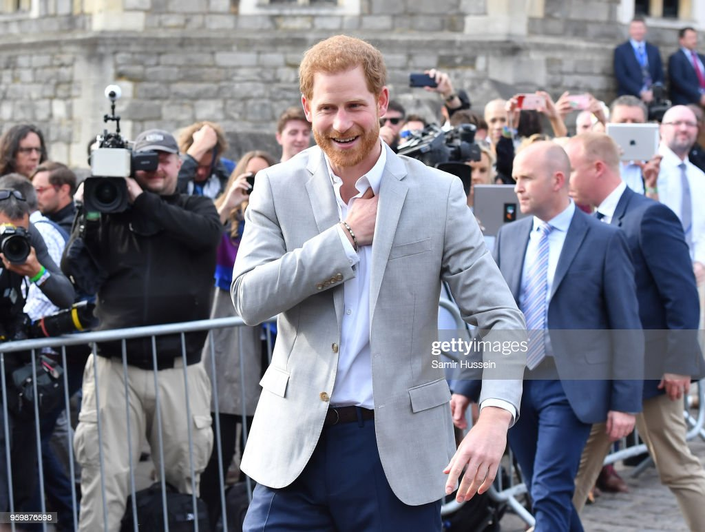 Prince Harry And Prince William Meet The Public In Windsor